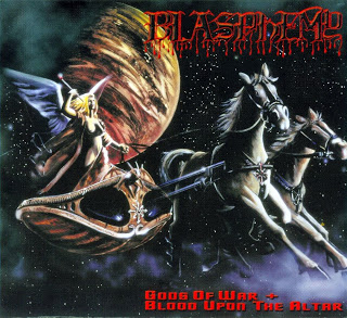 Blasphemy - Gods Of War  Blood Upon The Altar - Front