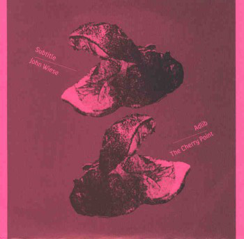 subtitle john wiese adlib cherry point split 7 inch album cover