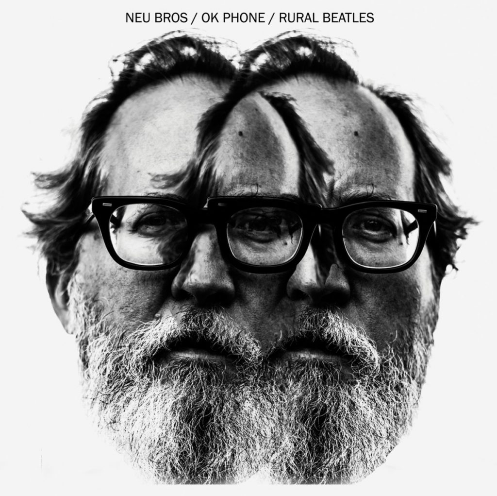 album cover for Bill Orcutt's Neu Bros OK Phone Rural Beatles
