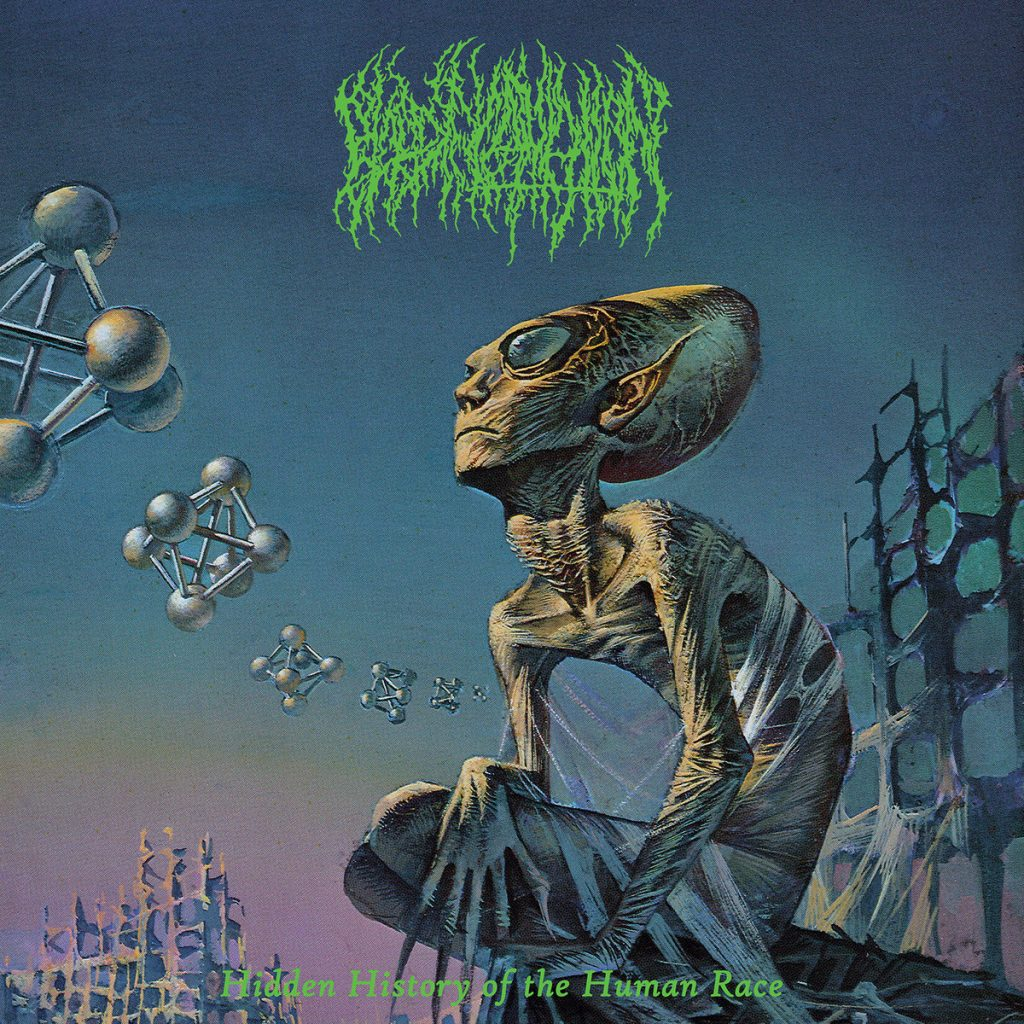 album artwork for Hidden History of the Human Race by Blood Incantation
