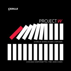 Project W album cover from Cedille Records