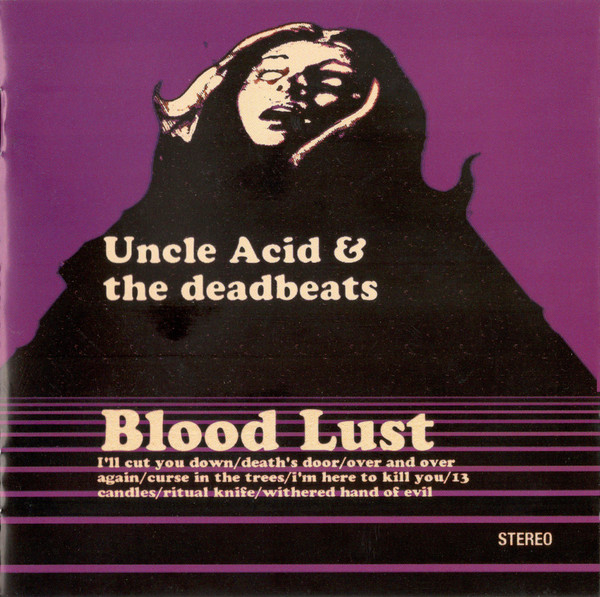 album cover artwork for Blood Lust by Uncle Acid and the Deadbeats